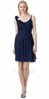 Adrianna Papell Rosette Chiffon Fit and Flare Cocktail Dresses