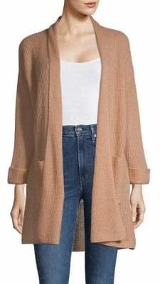Line Irene Open-Front Cashmere Cardigan