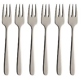 Villeroy & Boch Daily Line Pastry Forks, Set of 6