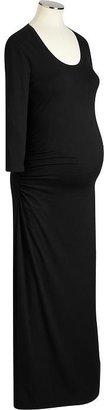 Old Navy Maternity 3/4-Sleeve Jersey Maxi Dresses
