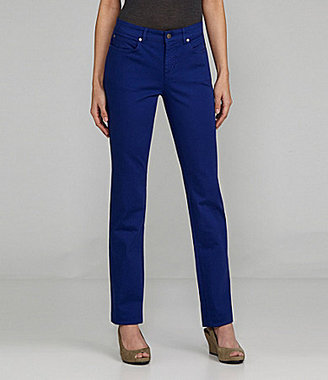 Eileen Fisher Colored 5-Pocket Lean Jeans