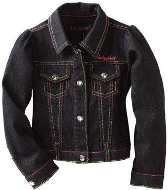 Baby Phat Girl's Long Sleeve Denim Jacket