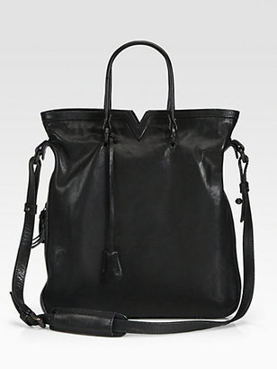Opening Ceremony Leather Tokyo Tote