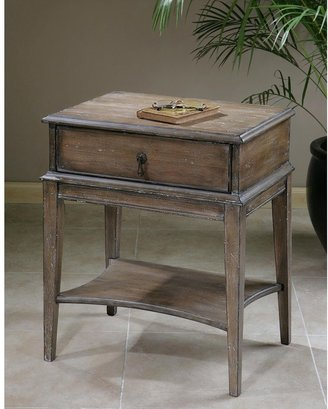 Uttermost Hanford Wood Accent Table
