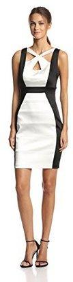 Jax Women's Sleeveless Cut Out Banded Dress