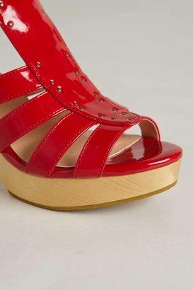 Marais Usa Cherry Clog Heels