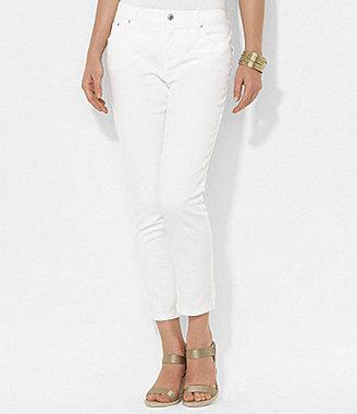 Lauren Ralph Lauren Slimming Cropped Straight Jeans