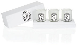 Diptyque Boxed Set of 3 Votive Candles