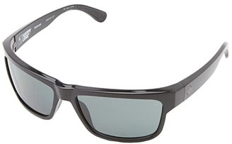 Spy Optic Frazier (Happy Lens) (Black - Happy Grey Green) Sport Sunglasses