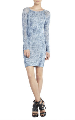 BCBGMAXAZRIA Crista Raglan-Sleeve Tunic Dress