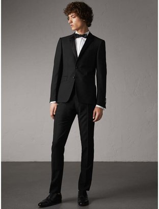 Burberry Slim Fit Wool Mohair Half-canvas Tuxedo