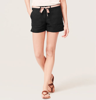 LOFT Safari Roll Shorts with 4 1/4 Inch Inseam