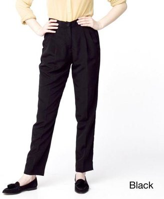 American Apparel Women's High-Waist Pleated Pants $69.99 thestylecure.com