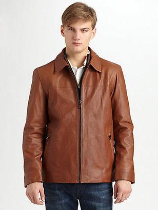 Andrew Marc New York Tumbled Westside Jacket