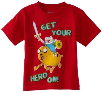Adventure Time Boys 2-7 Get Your Hero On Tee