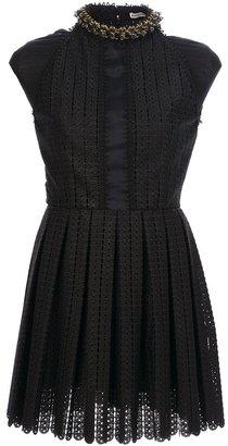 Paco Rabanne sleeveless crochet dress