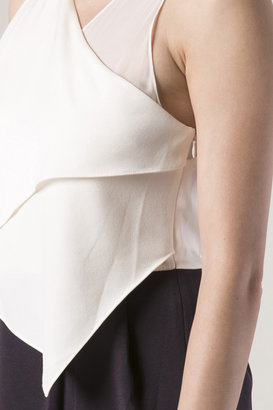 3.1 Phillip Lim Sheer Inset Drape Gown