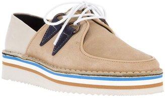 Swear lace-up shoe