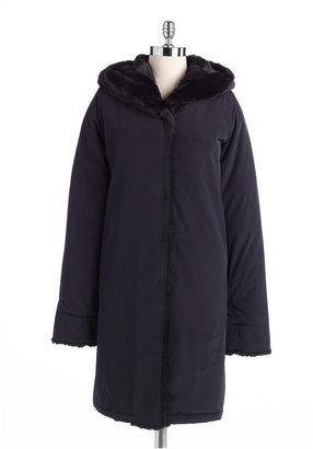 Jane Post Hooded Storm Coat