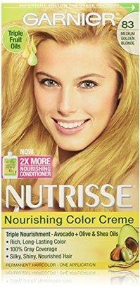 Garnier Nutrisse Nourishing Color Creme, 83 Medium Golden Blonde (Cream Soda) (Packaging May Vary) $7.99 thestylecure.com