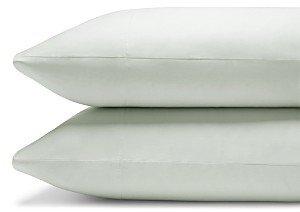 Coyuchi Organic Cotton Sateen 300TC King Pillowcase, Pair
