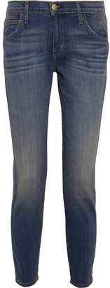 Current/Elliott The Slouchy Stiletto mid-rise skinny jeans