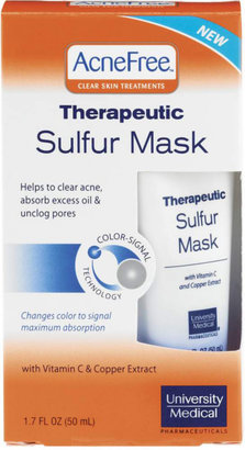 University Medical Acne Free Therapeutic Sulfur Mask $7.99 thestylecure.com