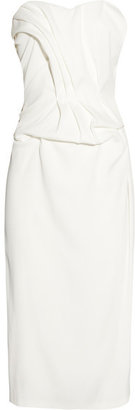 Sophia Kokosalaki Thalassa Ruched Crepe Dress - White