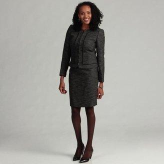 Tahari ASL Women's Collarless Novelty Skirt Suit $61.49 thestylecure.com
