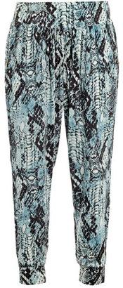 Cool Change Mamba-print trousers