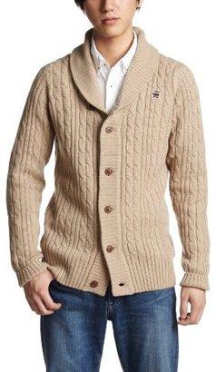 G Star G-Star Men's Borre Shawl Knit Long Sleeve Cardigan