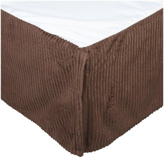 Carter's Everyday Easy Velour Dust Ruffle-Chocolate