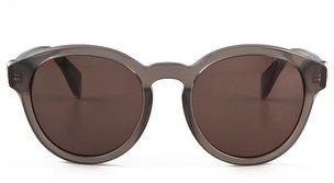 Alexander McQueen Preppy Round Sunglasses with Skulls