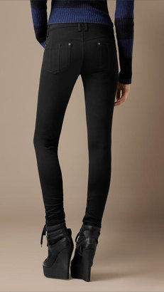 Burberry Ankle Zip Skinny Fit Trousers