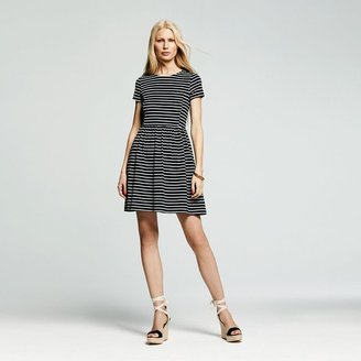 Peter Som for designation striped fit & flare dress - women's