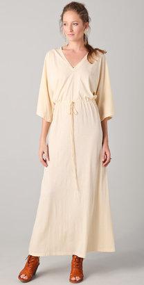 Daftbird Drawstring Long Dress