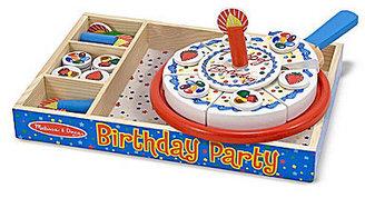 Melissa & Doug Birthday Party Wooden Play Food Set