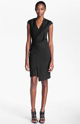 Helmut Lang 'Cove' Wrap Detail Dress