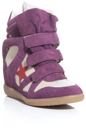 Isabel Marant Bayley wedge sneakers
