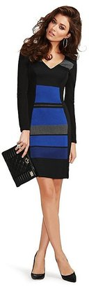 GUESS by Marciano Tori Striped Body-Con Dress