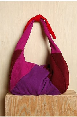 Urban Outfitters Colorblock Fleece Hobo