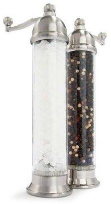 William Bounds Otto Turkish Clear Pepper & Salt Mills