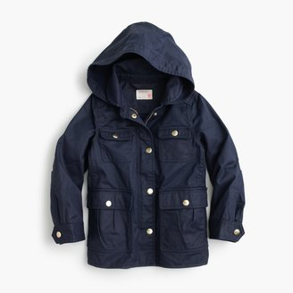 Girls' hooded downtown field jacket $98 thestylecure.com