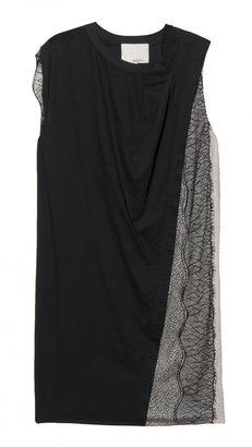 3.1 Phillip Lim Lace Panelled Dress