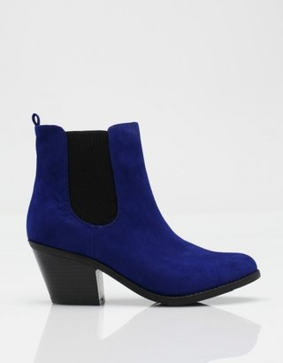 Muse Ankle Boot in Blue