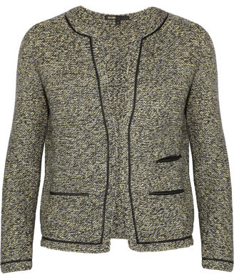 Maje Panpibi wool-blend tweed jacket