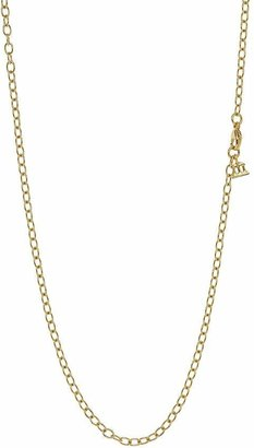 Temple St. Clair 18K Gold Extra Small Oval Chain, 18''