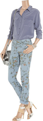 Citizens of Humanity Mandy floral-print high-rise skinny jeans