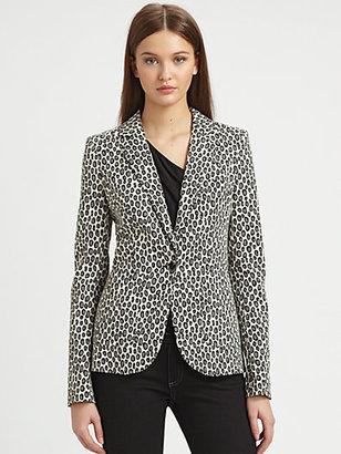 Rachel Zoe Charlie Snow Leopard Jacket