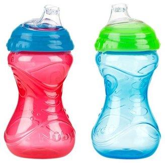 Nuby CLICK-IT No-Spill Gripper Cup - Boy - 10 oz